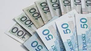 rozłożone pieniądze